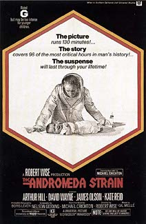 Andromeda Strain Movie Poster